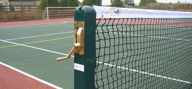 How To: Hang a Tennis Net