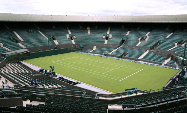 Wimbledon preparations