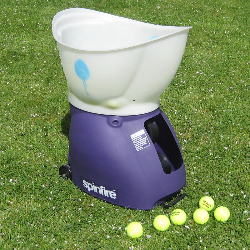 Introducing spinfire pro 2 tennis ball machines think sports equipment think - Lance balle tennis occasion ...