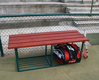 Introduce Unique New Tennis Court Bench Seats Think Sports Equipment Think
