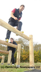 New Fitness Trail in Cambourne
