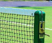 Standard tennis net