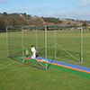 Premier Portable Galvanised Steel Cricket Cage, complete with Netting
