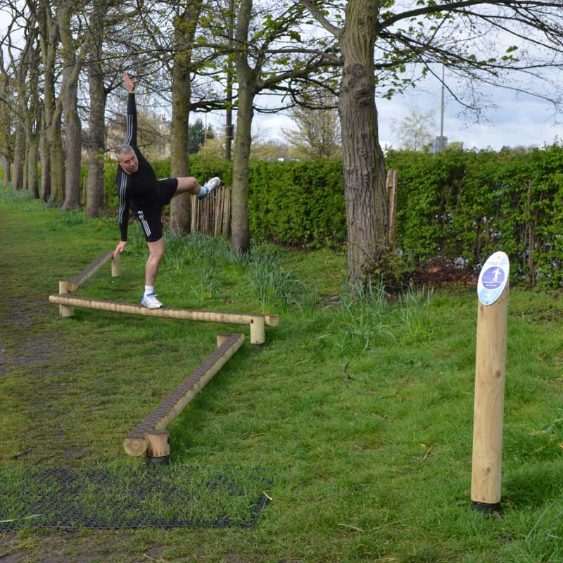 Timber Fitness Trails Trim Trails Balance Beams