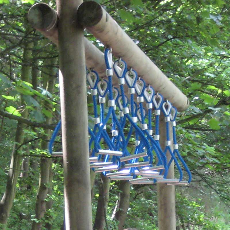Timber Fitness Trails Trim Trails Overhead Rings