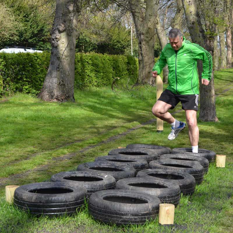 Physical Training Trails Pt Trails Tyre Run
