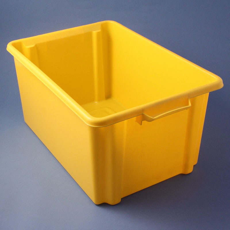Charmant Yellow Storage Container
