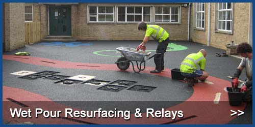 Wet Pour Resurfacing