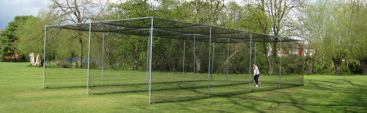 Cricket practice cages