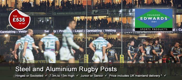 Edwards Sports Aluminium Rugby Posts