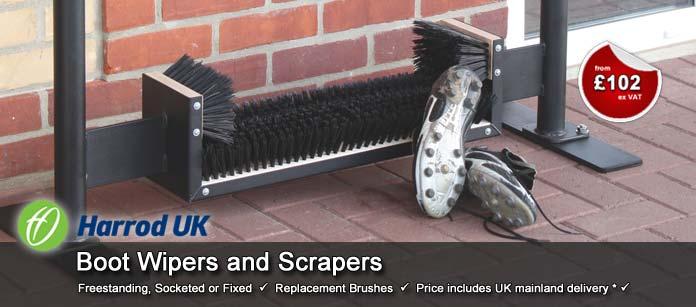 Harrod UK Boot Wipers and Scrapers
