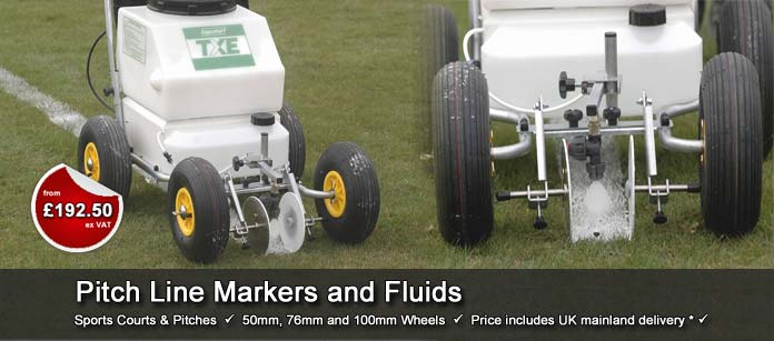Sports Pitch Line Markers and Fluids